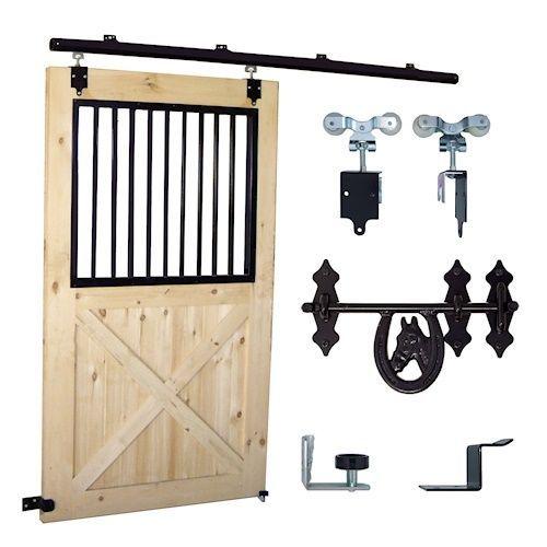 Stall Door Hardware Kit Barn Ideas Pinterest Barn Stalls