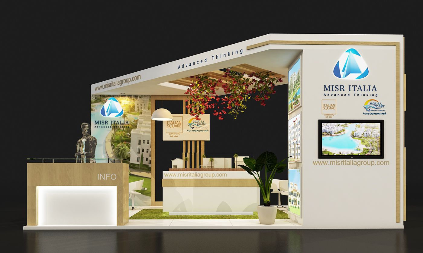 Exhibition Stand Behance : Iasa on behance small stands exhibition booth design