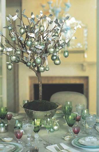 Martha Stewart Christmas Table Decorations Image From