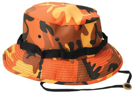a4280cbbb9d14 Military Jungle Hat Savage Orange Camouflage Military Jungle Hats  8.49 Army  Navy Store