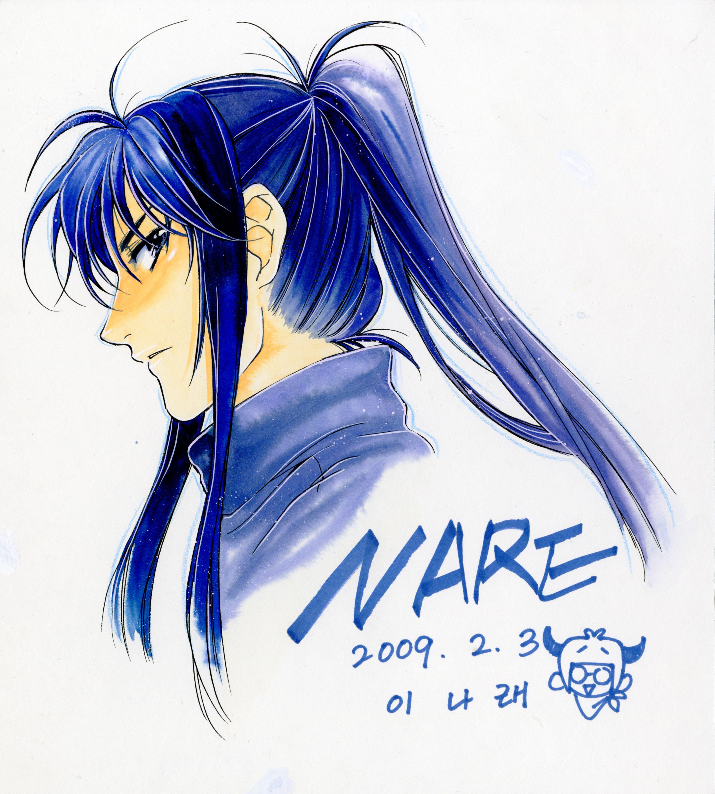 Character design for fang of the maximum ride manga