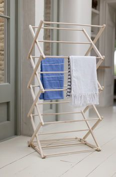 Folding Wooden Clothes Horse Wooden Clothes Drying Rack Clothes Drying Racks Clothes Horse