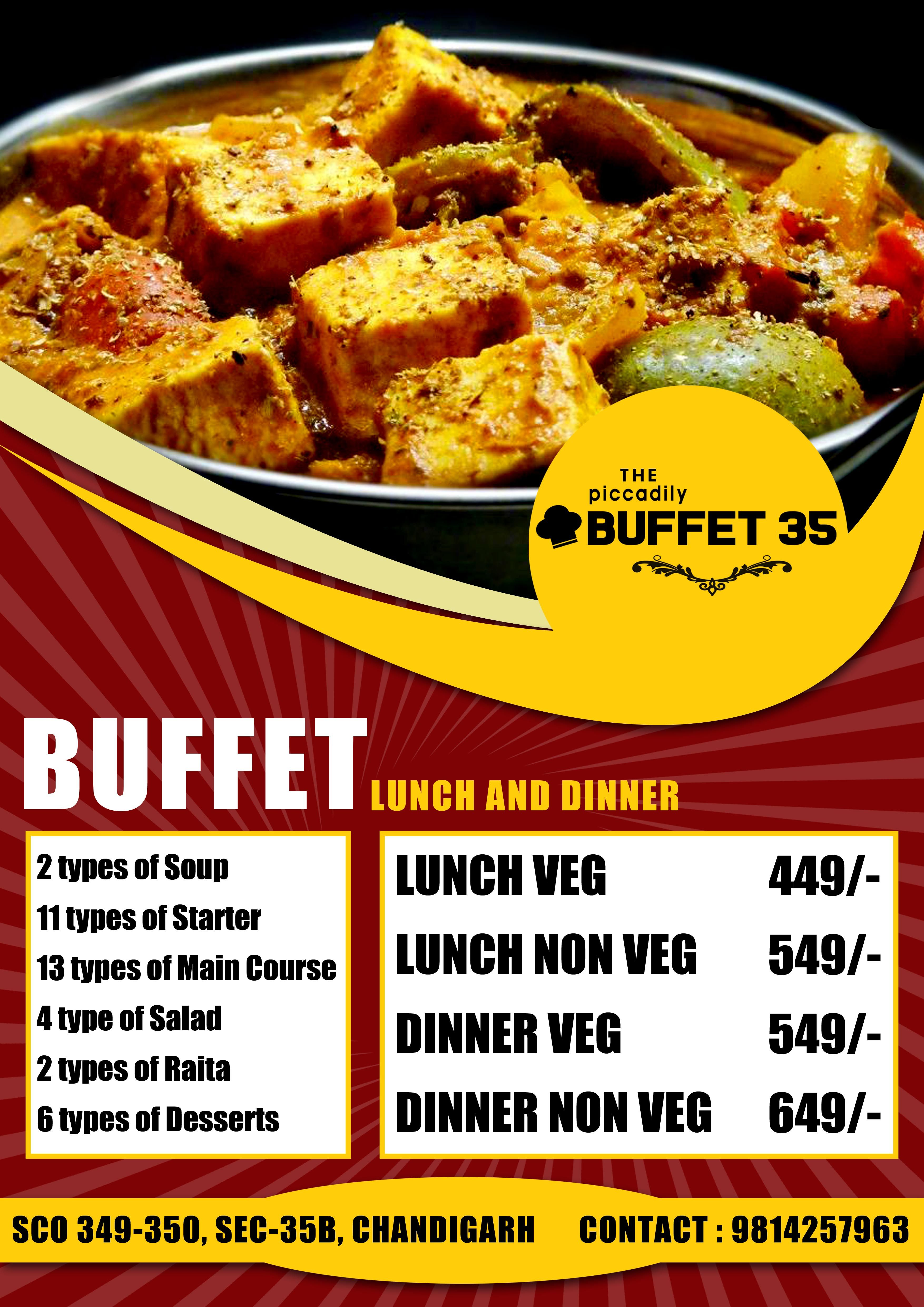 #ShreeGMediaWorks #RestaurentGraphics #Food #LiveGrilling #BArbeque #FoodDesigns #FoodLovers #Buffet #BBQ #Advertisements #CreativeADs #Brands #ThePiccadily #Buffet35 for any query contact us at: +91-7087969924 or +91-9988375664
