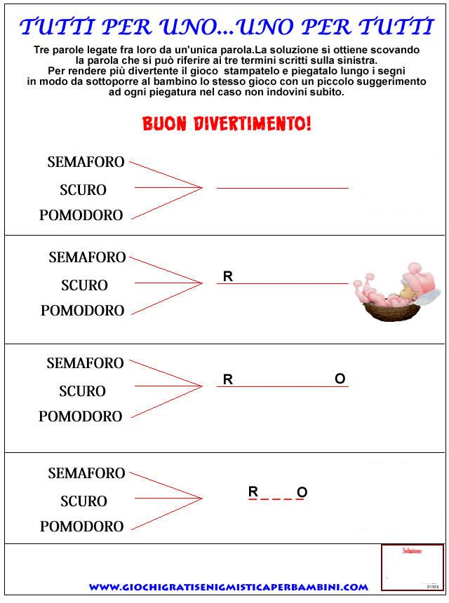 Enigmistica3 Enigmistica Per Bambini E Ragazzi
