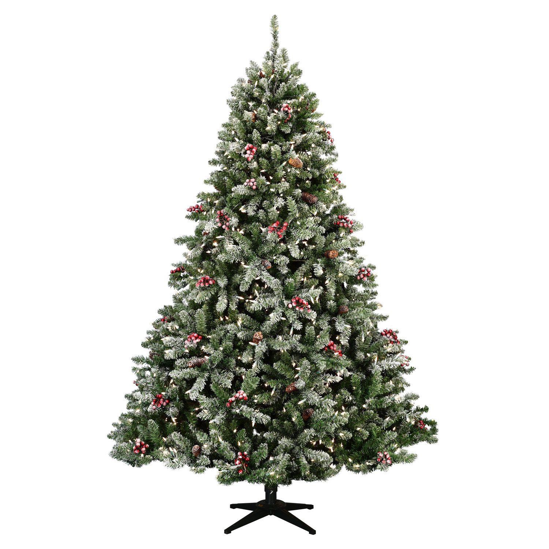 Flocked Hawthorne Prelit Tree Pre Lit Christmas Tree Flocked Christmas Trees Purple Christmas Tree