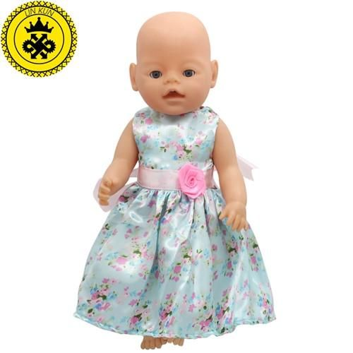 Baby Born Doll Clothes Fit 43cm Baby Born Doll Handmade 15 Colors Princess Multicolor Doll Dress Doll Accessories D-25