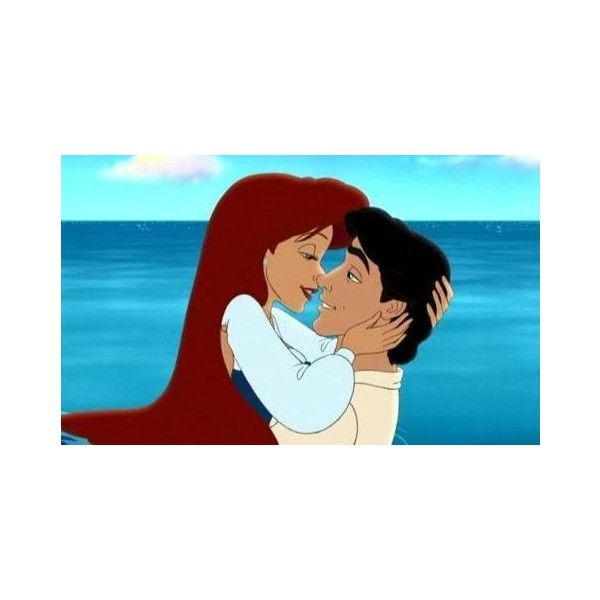 Ariel-and-Eric-classic-disney-33018938-598-362.jpg ❤ liked on Polyvore featuring ariel and disney