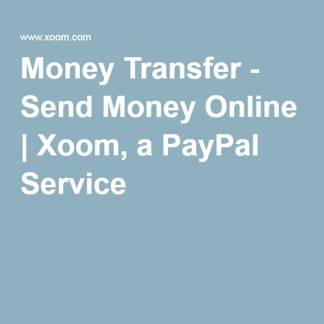 Money Transfer - Send Money Online | Xoom, a PayPal Service | Mexico ...