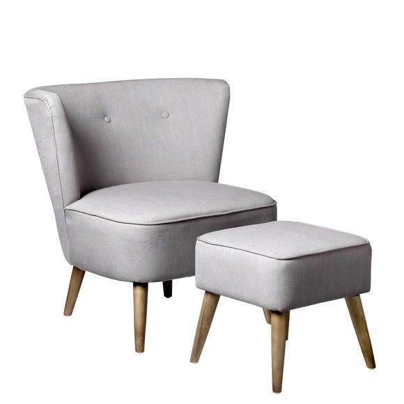 Kleine Sessel billig sessel mit hocker günstig deutsche deko