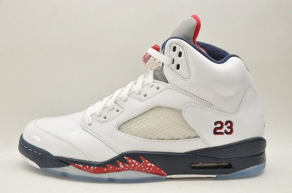 Air Jordan 5 Retro – 4th of July http://soletron.com