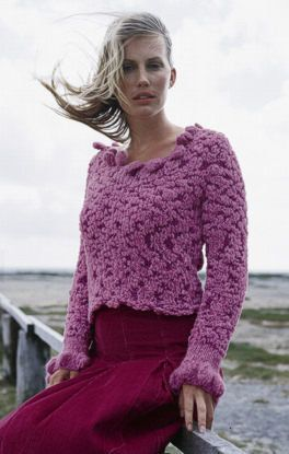 Free Knitting Pattern - Women's Sweaters: Favola and Fumo Sweater