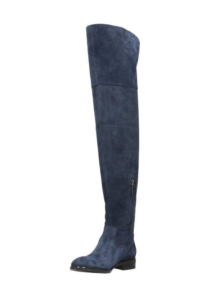 Gino Rossi Stiefel Miwa, Leder, Absatz 3 cm blau Jetzt bestellen unter   https 3db49d0efb