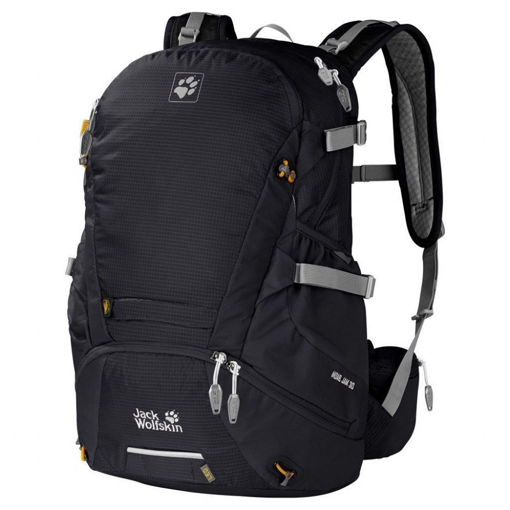 Jack Wolfskin Moab Jam 30 Daypack Backpack Black Day Backpacks