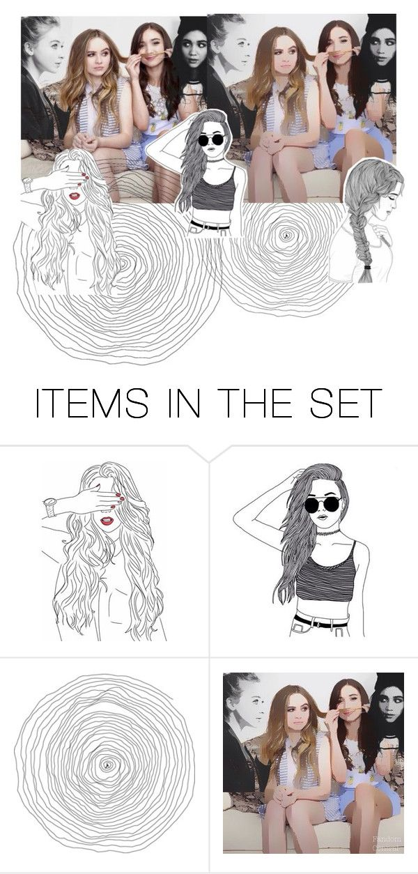 """""""My Role Models"""" by rebelkatnisseverdeen ❤ liked on Polyvore featuring art, rowanblanchard, sabrinacarpenter and sabrinacarpenterfollowedme"""