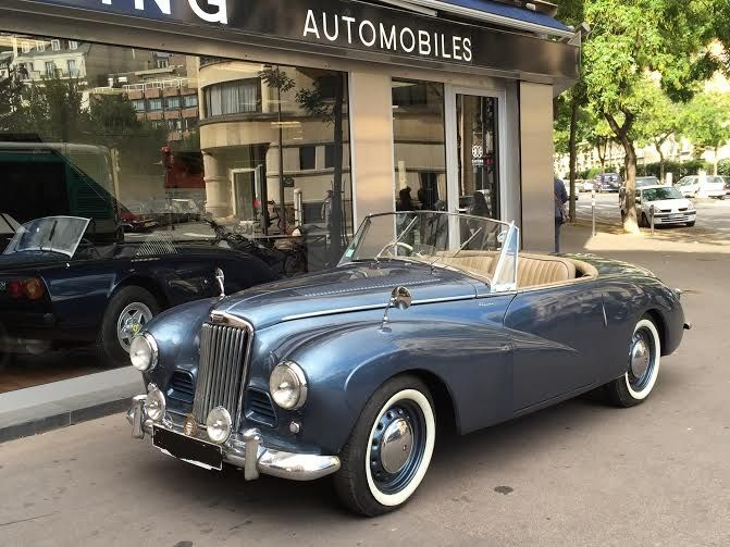 Sunbeam Alpine Mk1 Roadster 1953 The Car Cary Grant And Grace Kelly Drive In To Catch A Thief