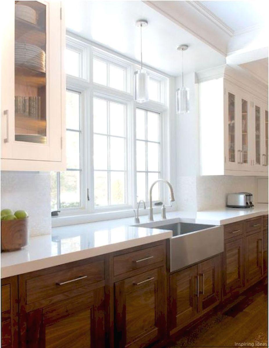 052 awesome modern farmhouse kitchen cabinets ideas | Farmhouse ...