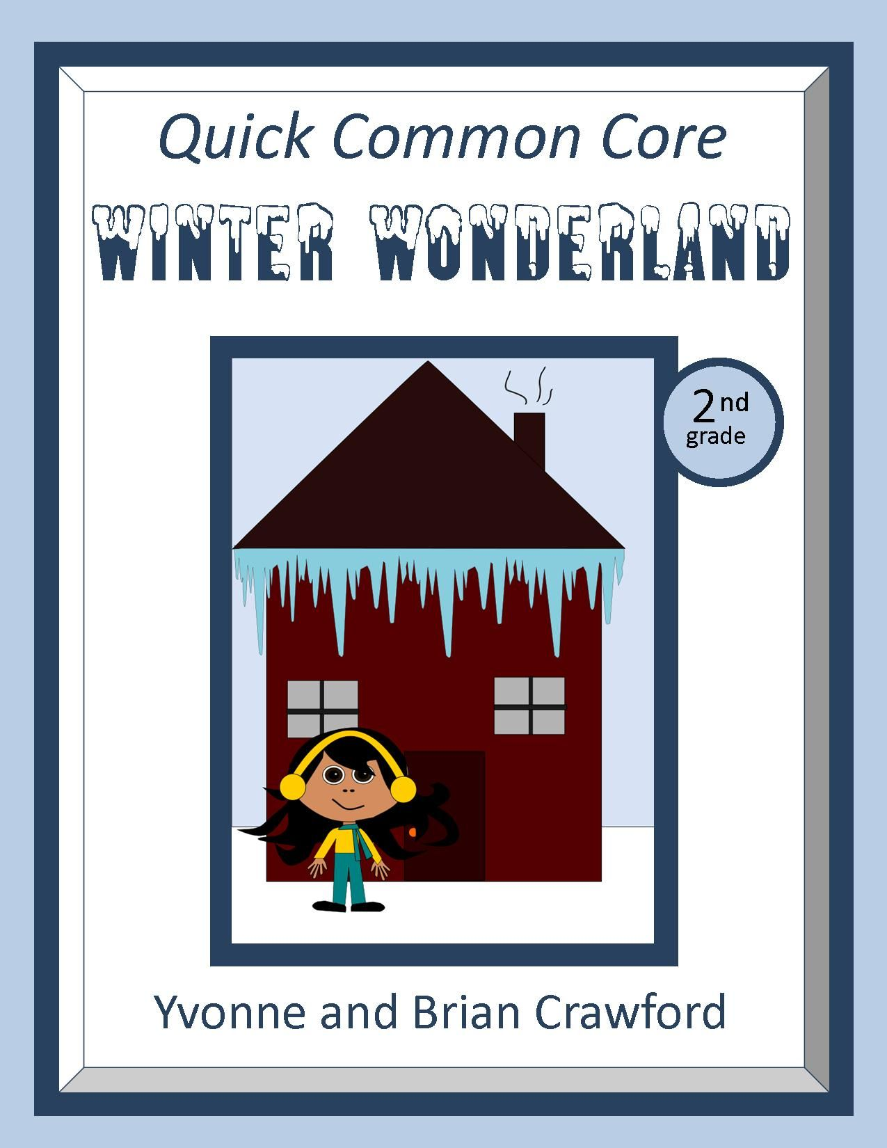 Winter No Prep Common Core Math 2nd Grade With Images