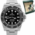 2014 Rolex Submariner No-Date 114060 Stainless Steel Dive Ceramic 40mm Watch #Rolex #Watch #rolexsubmariner