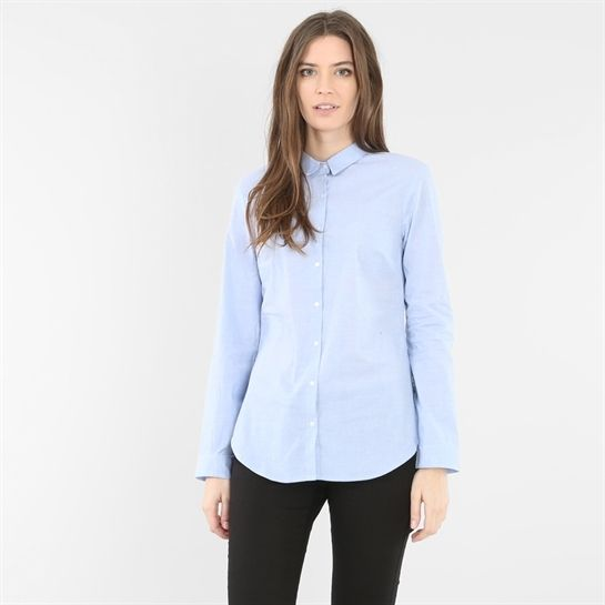 113f92693d871 Chemise bleue - Collection Manches longues - Pimkie France   mode ...