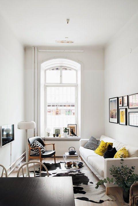 petit appartement tout en longueur