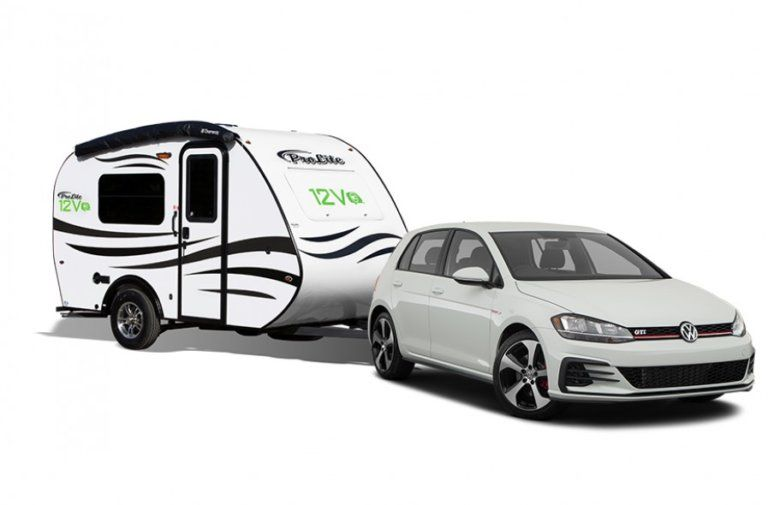 Lightweight Travel Trailer You Can Tow With Your Car