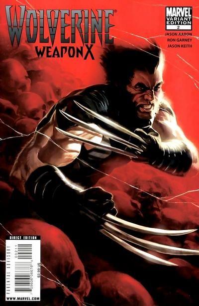 Wolverine: Weapon X # 2 (Variant) by Marko Djurdjevic
