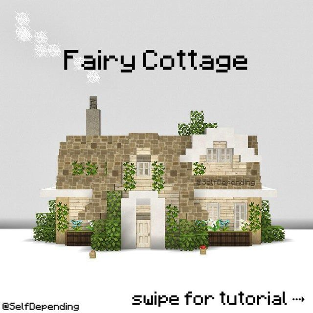 Here's a quick fairy cottage tutorial by me :)
