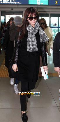 seohyun's airport fashion