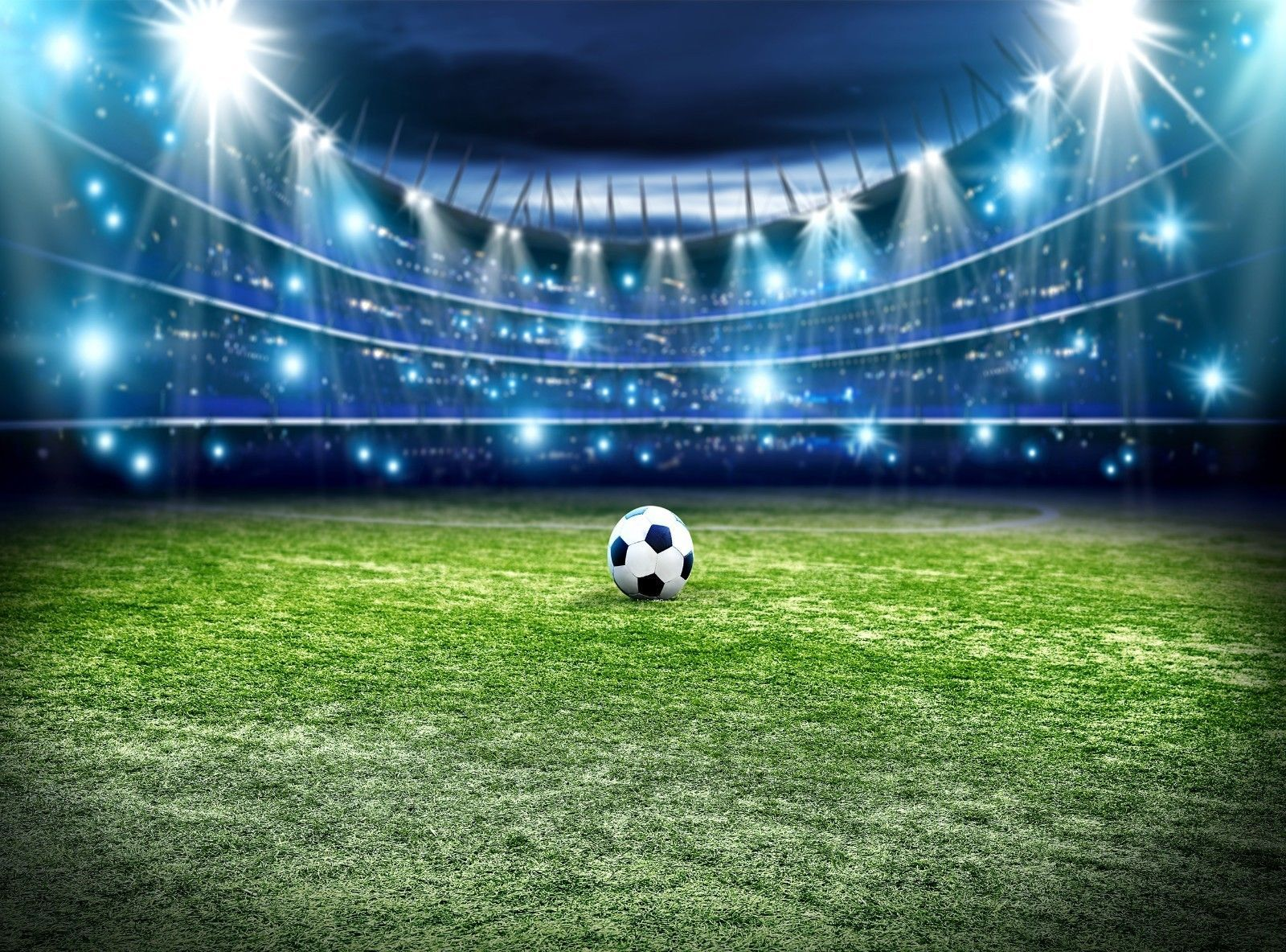 Details About Football Pitch Photo Wallpaper Wall Mural Decor