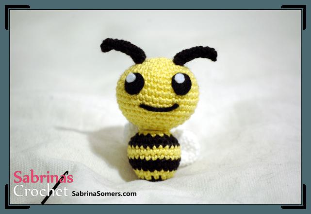Crochet pattern Little Bee | amigorumis | Pinterest | Häkeln, Bienen ...