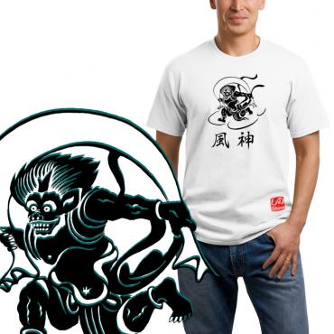 Fūjin 風神 - T-shirt