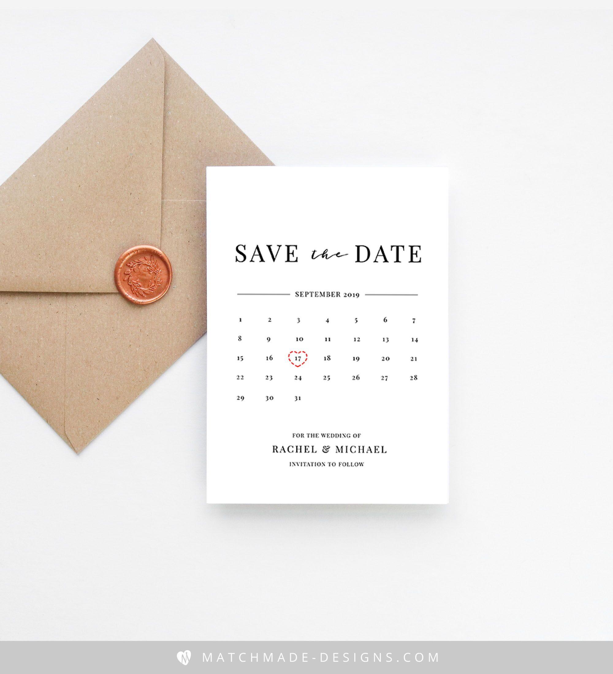 calendar save the date template  calendar invitation