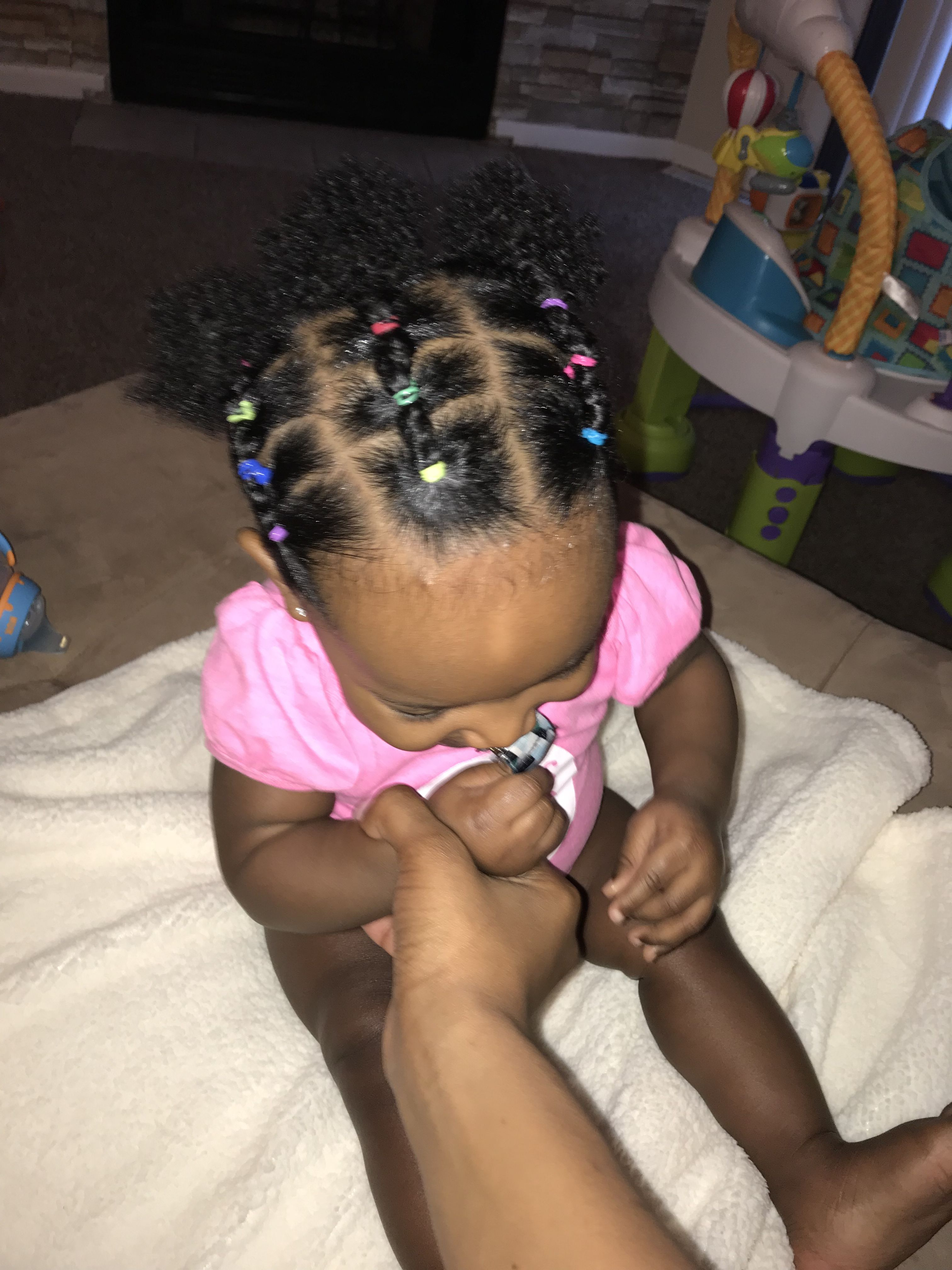 9 Months Old Hairstyles For Babies Baby Girl Hairstyles Baby Girl Hair Hair Styles