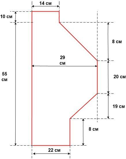 Схема кофт для мальчиков
