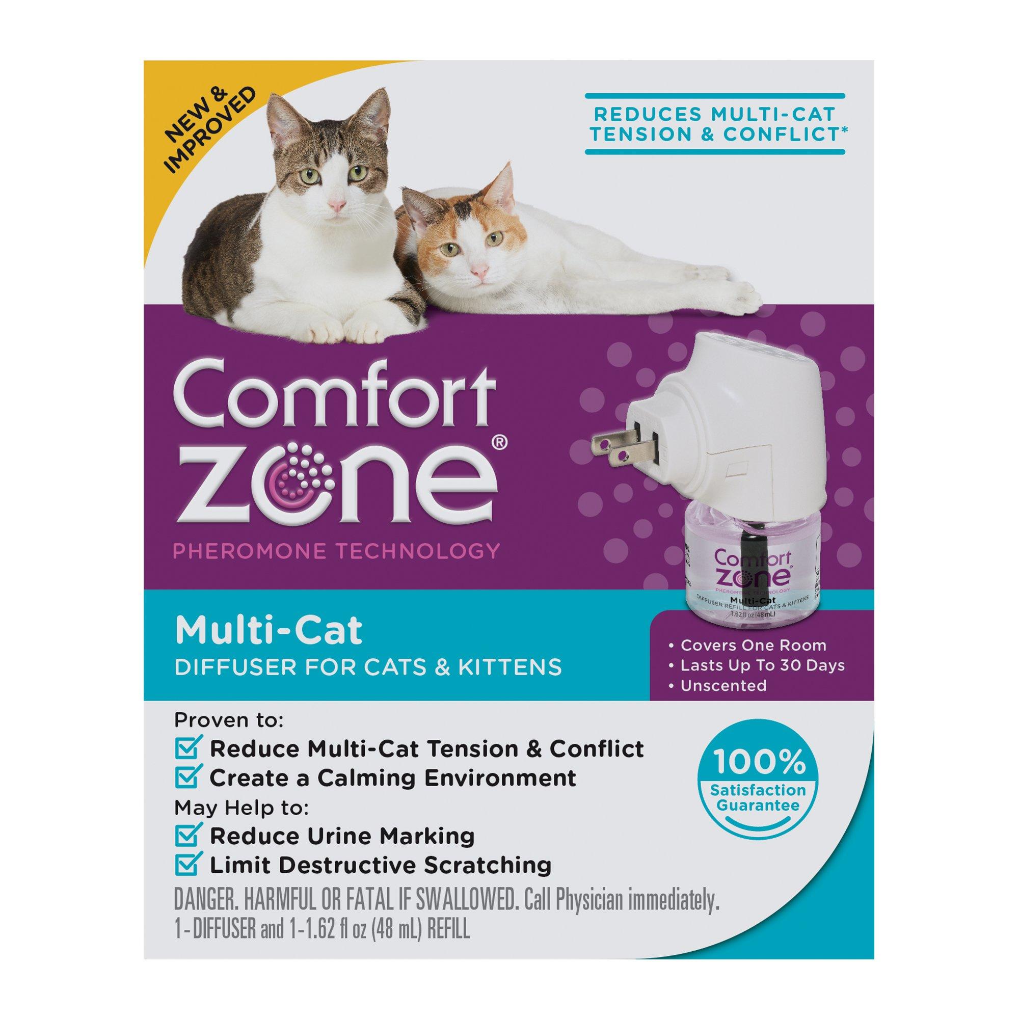 Comfort Zone Multicat Control Diffuser Kit 1 62 Fl Oz 1 Ct