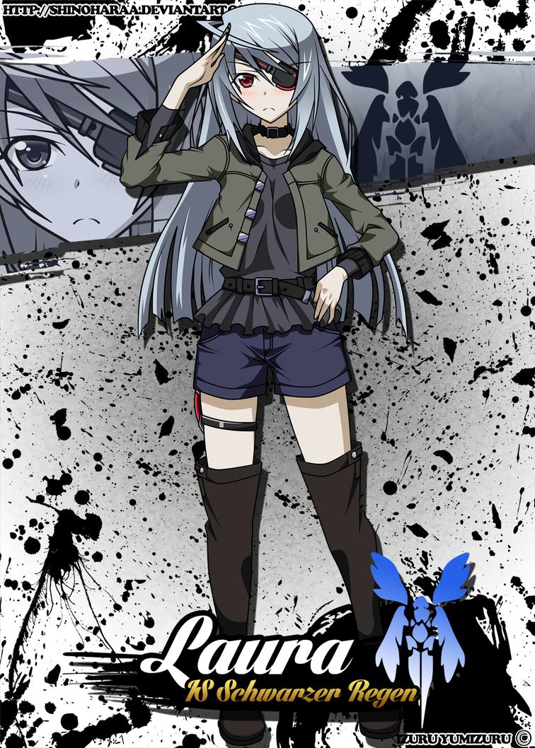 Laura Bodewig By Shinoharaa 少女 インフィニット アニメ