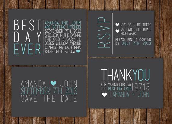 Modern Wedding Invitations Google Search Wedding Ideas - Modern wedding invitation templates