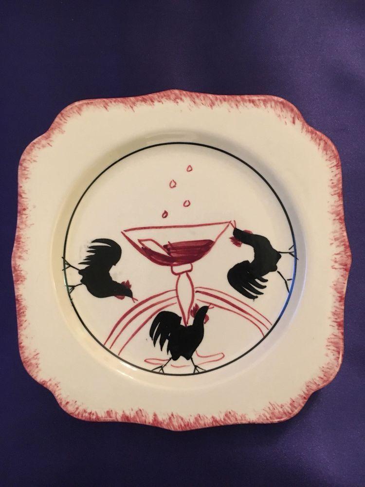 Cock o the walk dinnerware agree