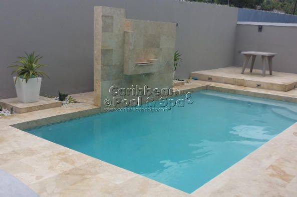 Caribbean pool and spa construcci n de piscinas en for Piscinas modernas