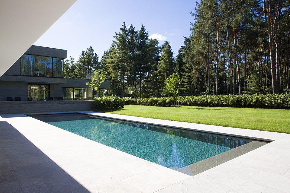 Qpvoss2 bouw zwembad tuin pinterest piletas casas for Zwembad achtertuin
