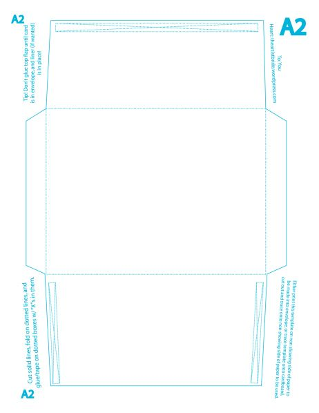 A Envelope Template Free Envelope Liner Template Sample Envelope