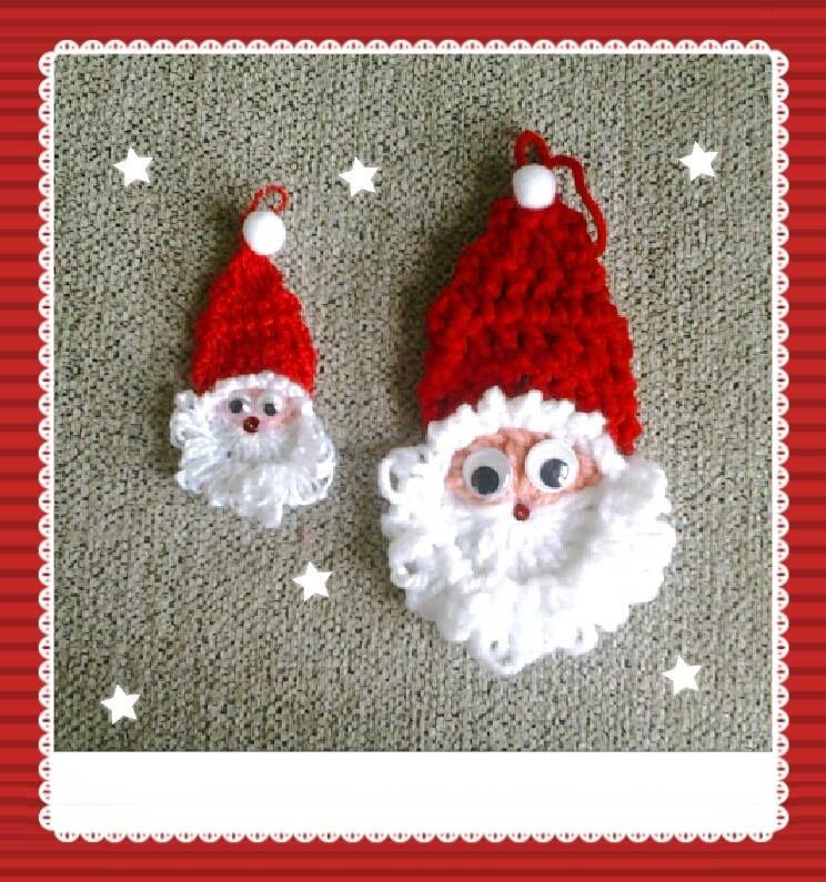 Papá Noel de crochet
