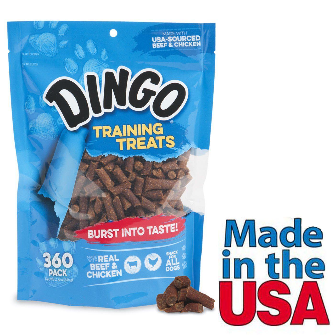 Dingo Dog Training Treats For Obedience Behavior Training Real
