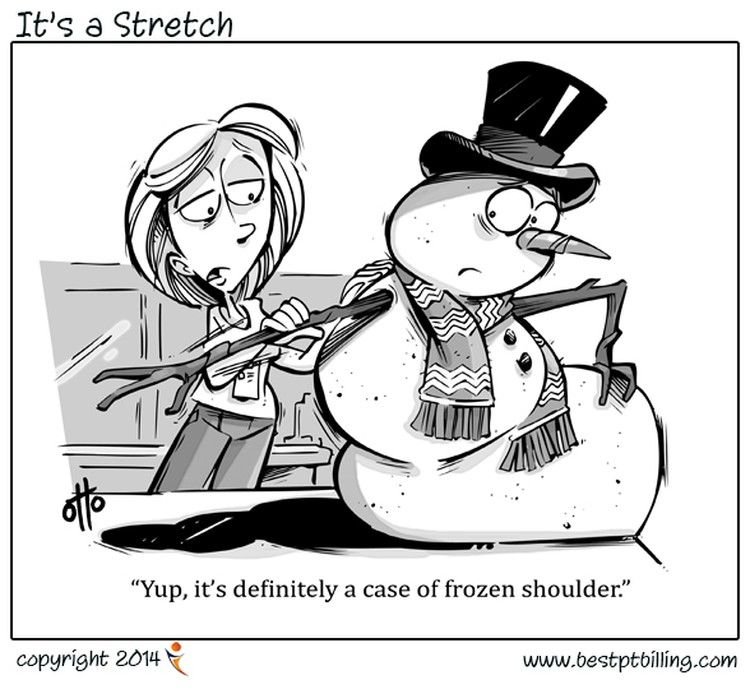 Getting over the Cold Shoulder | Physical therapy humor ...