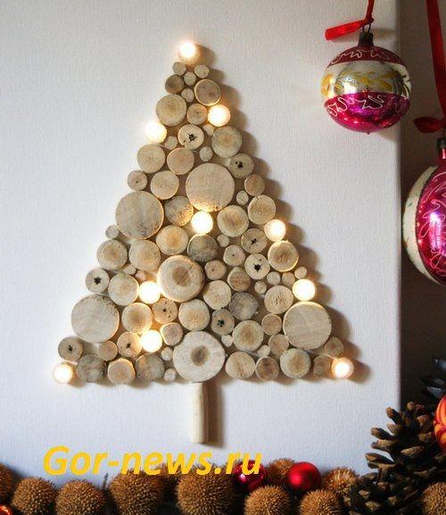 Картинки по запросу зеркальная елка | Wall christmas tree ...