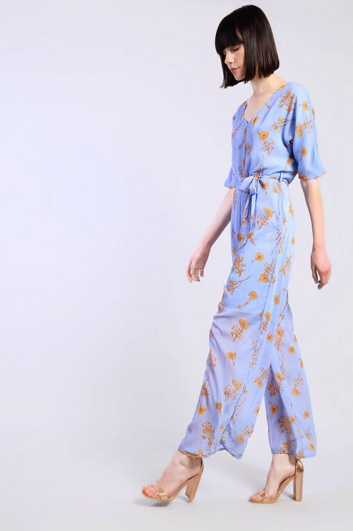 0cc308ba75b6 Rust Floral Jumpsuit by Glamorous in 2019 | Products | Floral ...