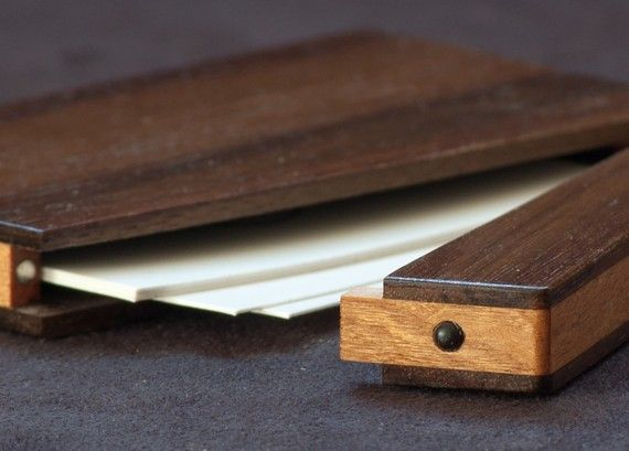 Wood business card holder and credit card case by acousticdesign wood business card holder and credit card case by acousticdesign colourmoves