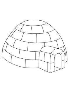 Preschool Igloo Craft Template Yahoo Image Search Results