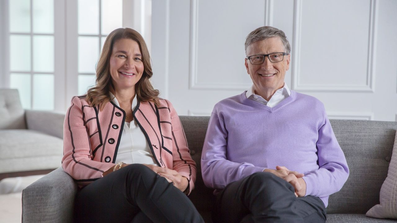 Progress by the numbers bill gates change the world