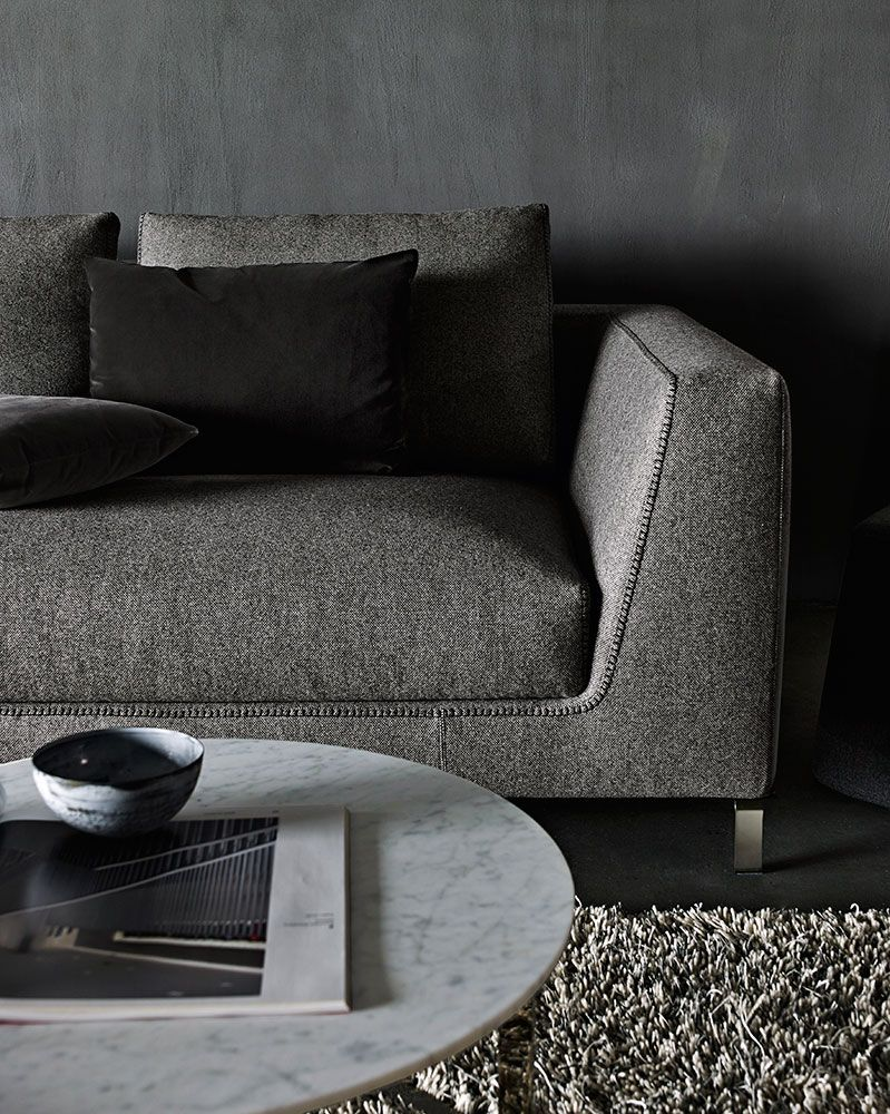 Italia Design Möbel Sofa Ray Collection B B Italia Design Antonio Citterio